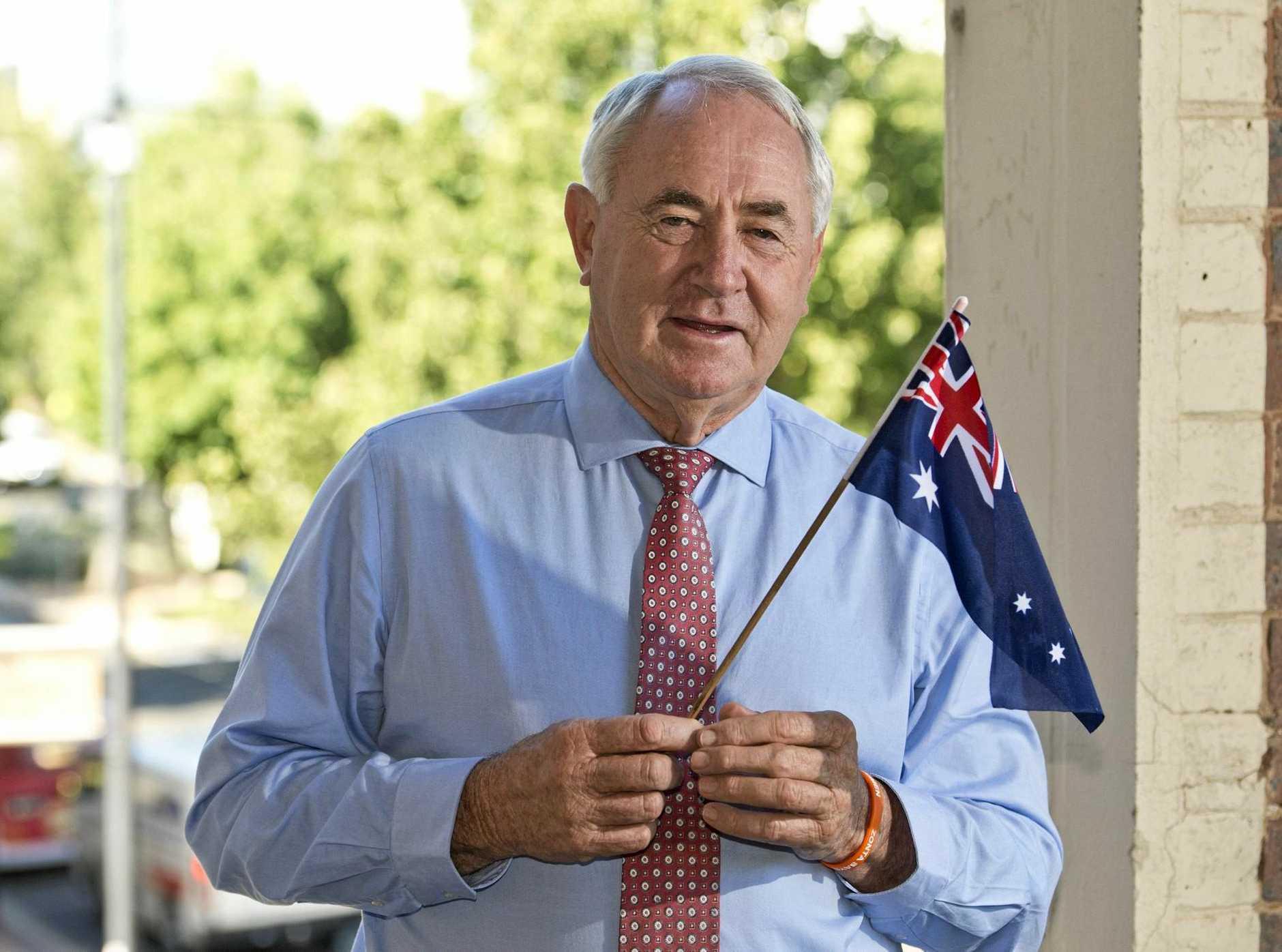Toowoomba Regional Council Mayor Paul Antonio talks about Australia Day, Monday, January 22, 2018.