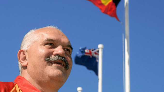 FLYING FREE: Dr Kerry Blackman is calling for the date of Australia Day to be changed.