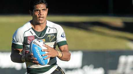 Ipswich Jets V Burleigh Bears at North Ipswich Reserve on Saturday. Michael Purcell.