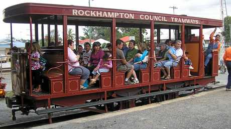 FAMILY FUN: Archer Park Railway Museum will hold their  family fun day Sunday.
