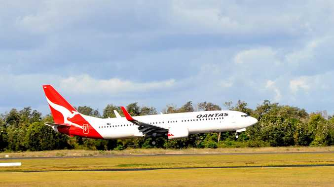 Qantas is offering up to 30 per cent off flights between Moranbah and Brisbane.