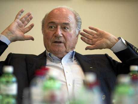 FIFA President Sepp Blatter said Australia was never a chance.