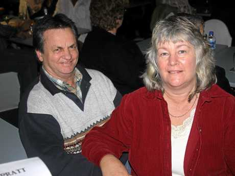 Bee Gees Concert at Gympie Pines Golf Club.  Bill and Karen Zahner.