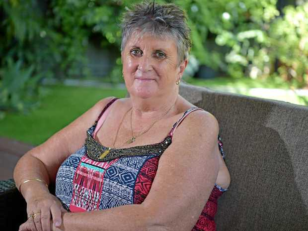 INJURED: Jane Tozer is seeking compensation from Dicky Beach Surf Club after suffering from a fall.