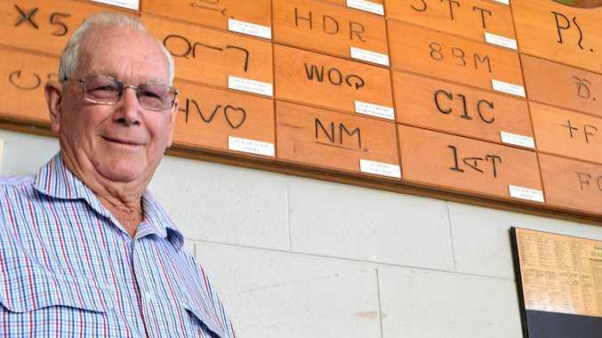 President of the Mackay Show Association Robert Denman has won the region's top Australia Day award.