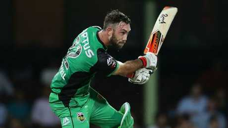 Glenn Maxwell is back in the ODI squad after blasting 84 for the Stars on Tuesday. Picture: Getty Images