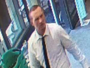 Have you seen this charity thief?