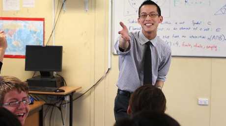 Teacher Eddie Woo has been named the 2018 Local Hero.