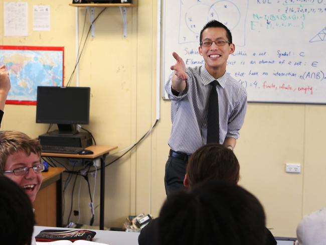 Teacher Eddie Woo has been named the 2018 Local Hero.