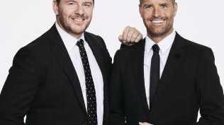 My Kitchen Rules judges Manu Feildel and Pete Evans. Picture: Channel 7