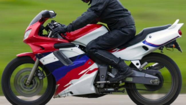Man killed in overnight motorbike crash