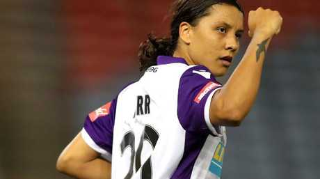 Perth Glory striker Samantha Kerr has been named Young Australian of the Year.