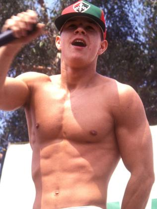 Mark Wahlberg (Marky Mark) says his body is down to hard work and genetics. Picture: Supplied