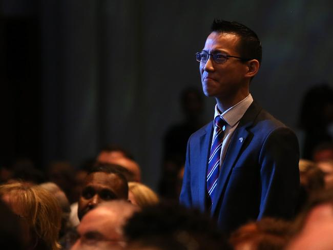 Australia's Local Hero for 2018 is  Sydney maths teacher Eddie Woo. Picture Kym Smith