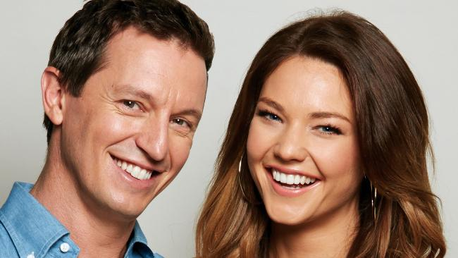 Sam Frost claims she found out her radio show with Rove McManus was axed when she read it online.