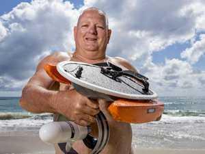 You must see this motorised bodysurfer