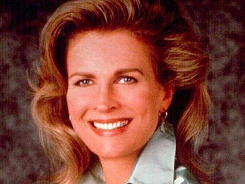 Candice Bergen as Murphy Brown.