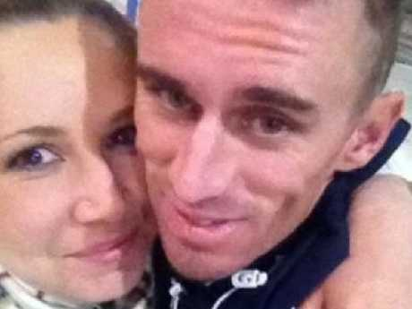 Karlie Tyrrell and Brendan Collins, the biological parents of William Tyrrell, pictured in 2014. Picture: Supplied