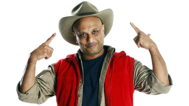 Former I'm A Celebrity ... Get Me Out Of Here! contestant Akmal Saleh. Picture: Channel Ten.