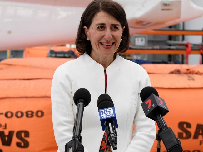 NSW Premier Gladys Berejiklian Picture: Dan Himbrechts