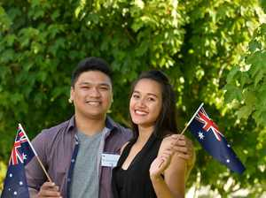 Why Toowoomba girl became an Australian citizen