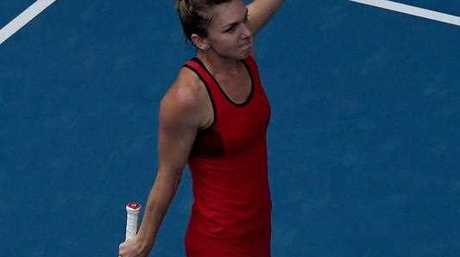 Simona Halep ordered the dress online from China