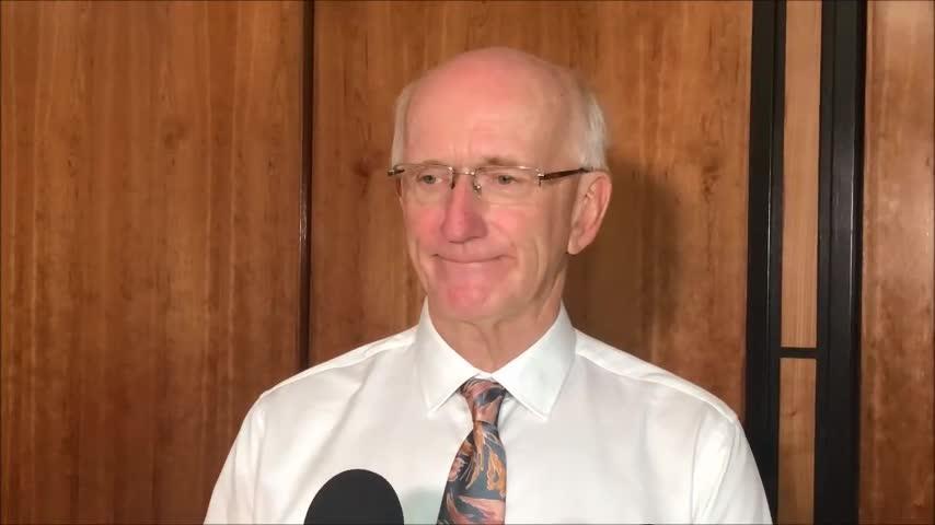 Former mayor Chris Loft
