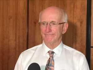 Mayor Chris Loft quizzed by media