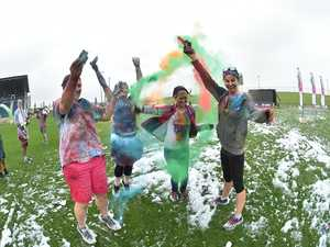 Fun run to bring bright colours, foam to Toowoomba