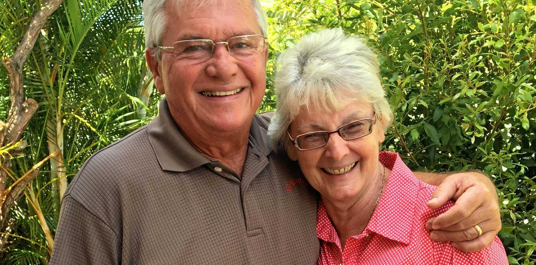 IN LOVE: Billy and Vera Gill celebrate their 50th wedding anniversary today.