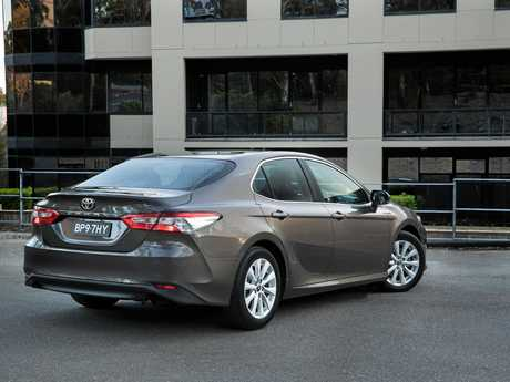 The new Toyota Camry Ascent has improved safety equipment and a slightly more sporty stance.