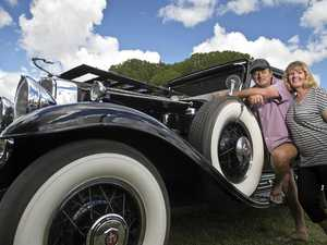 Vintage cars, history talks...take a step back in time today