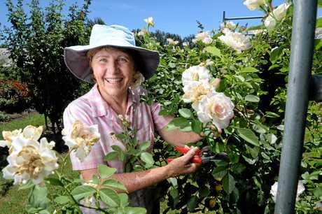 Bartons Rose Farm owner Pam Barton.