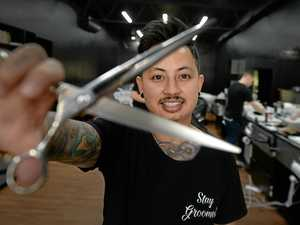 Rocky barbershop expands after successful year in business