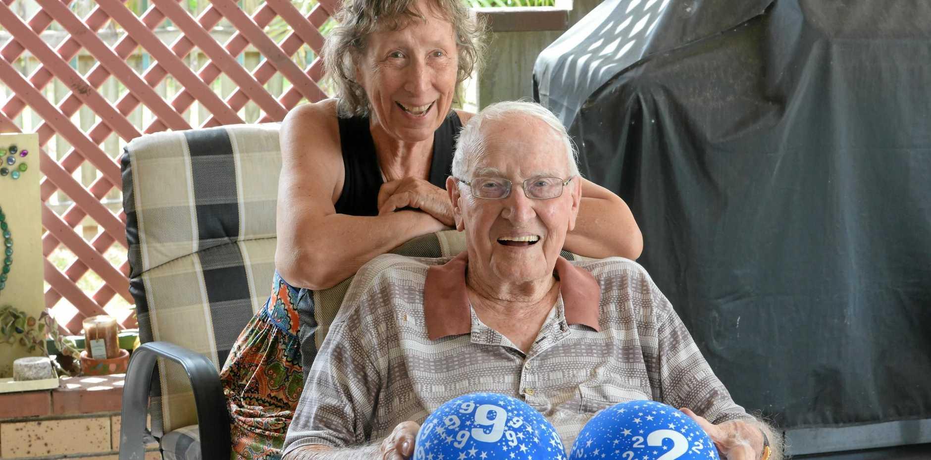 Ken Alden and Jill (nee Ford) Alden have celebrated Ken's 92nd birthday.