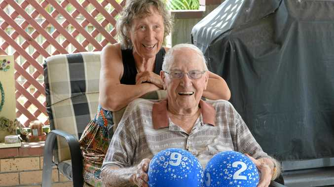 Ken Alden and Jill (nee Ford) Alden have celebrated Ken's 92nd birthday.
