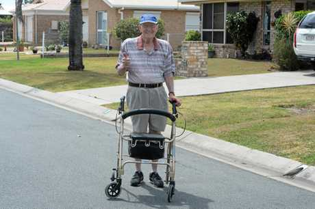 GOING STRONG: Ken Alden has just celebrated his 92nd birthday.