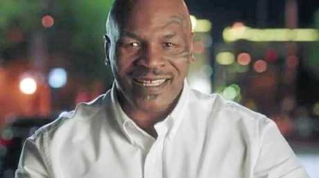 Mike Tyson in the latest Ultra Tune advertisement.