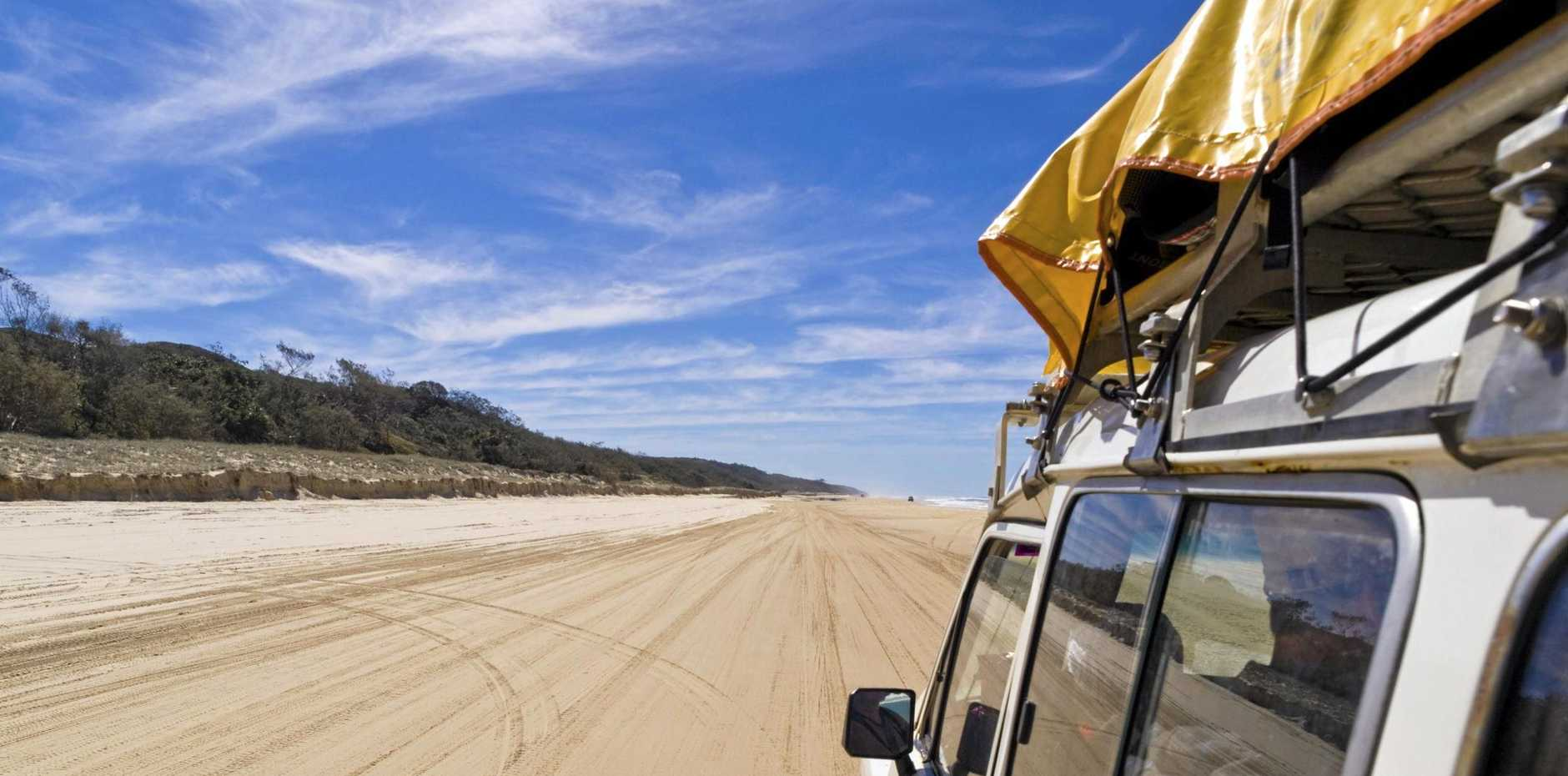 While it looks easy, the reality of driving on sand can often be very different.