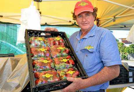 MARKET: Alan Ballantyne from Ballantynes Strawberry farm