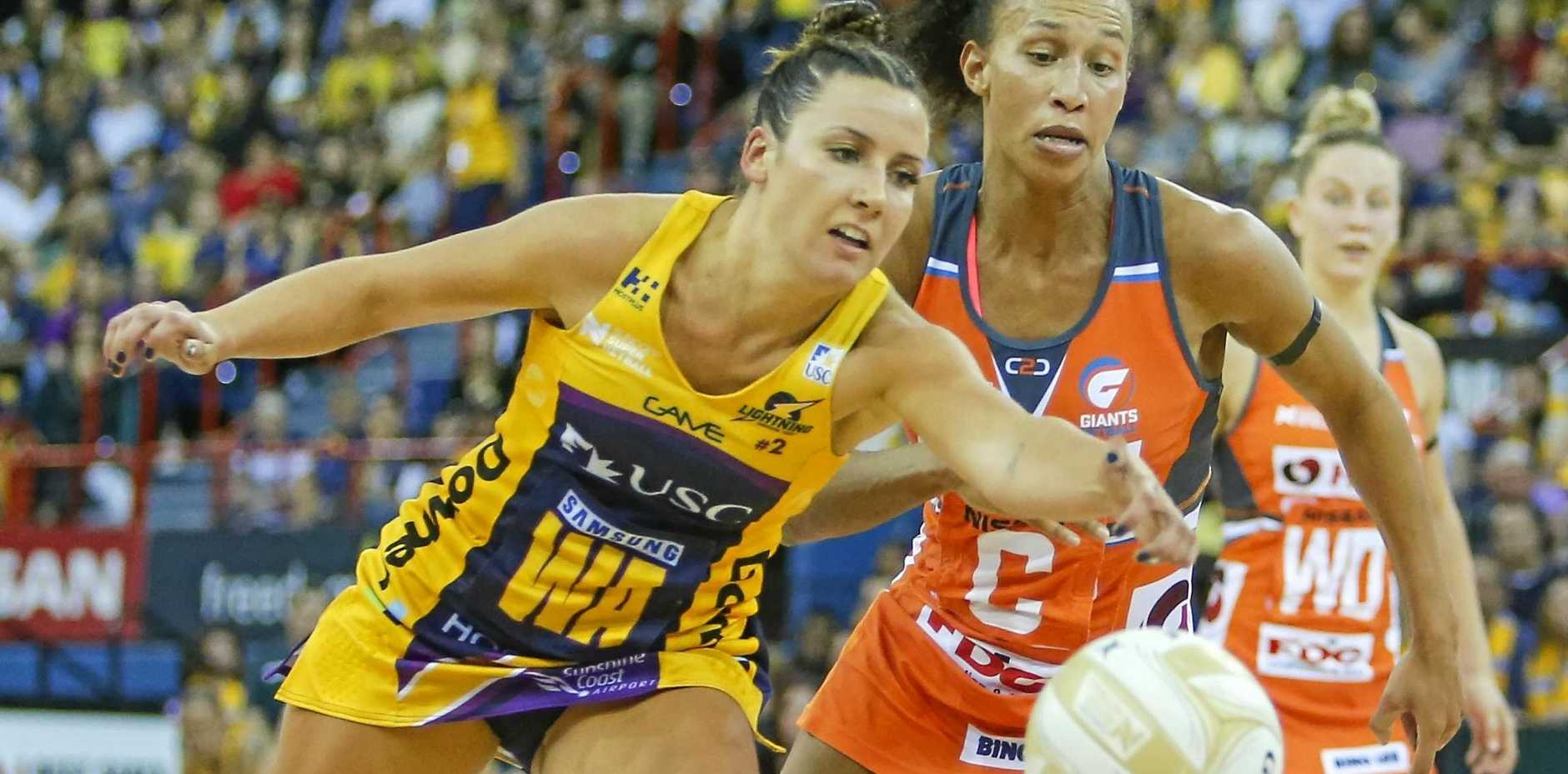 IN ACTION: Kelsey Browne of the Lightning