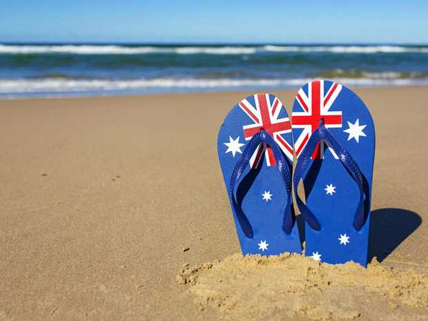 ICONIC: Thongs are an Aussie staple.