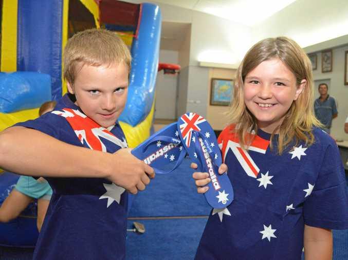 Australia Day events will ramp up across Mackay today.