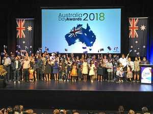 PHOTOS: Australia Day awards and citizenship ceremony
