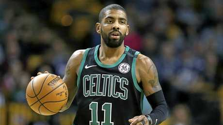 Kyrie Irving in action for Boston.