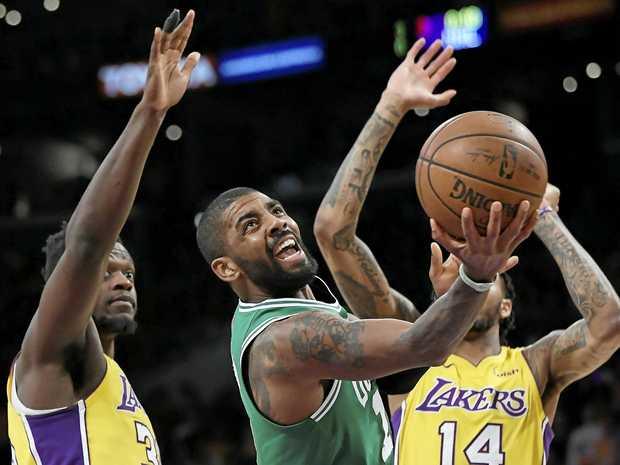 Boston Celtics guard Kyrie Irving.