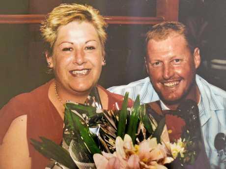 Alan with Jodi on her 35th birthday.