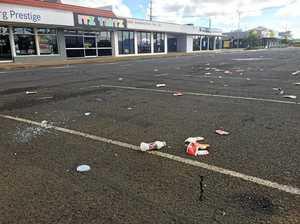 Bourbong Street litter a disgrace