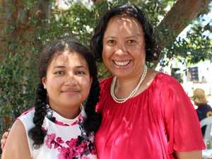 Mother-daughter duo celebrate citizenship
