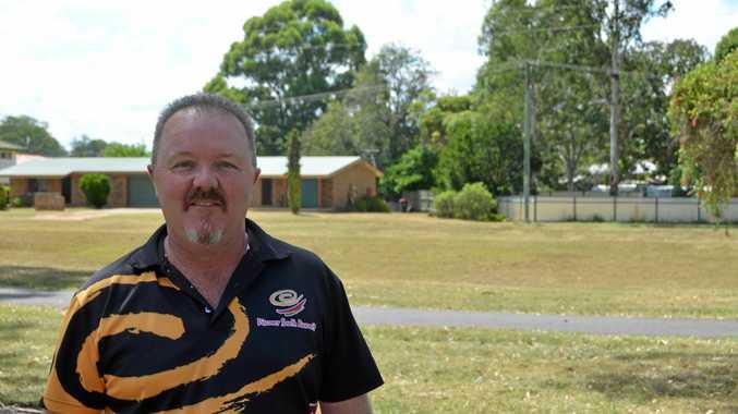 South Burnett Citizen of the Year Jason Ford at Kingaroy Australia Day, 2018.